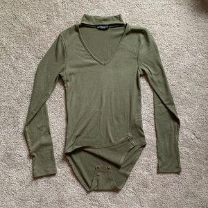 Camo Green Body Suit